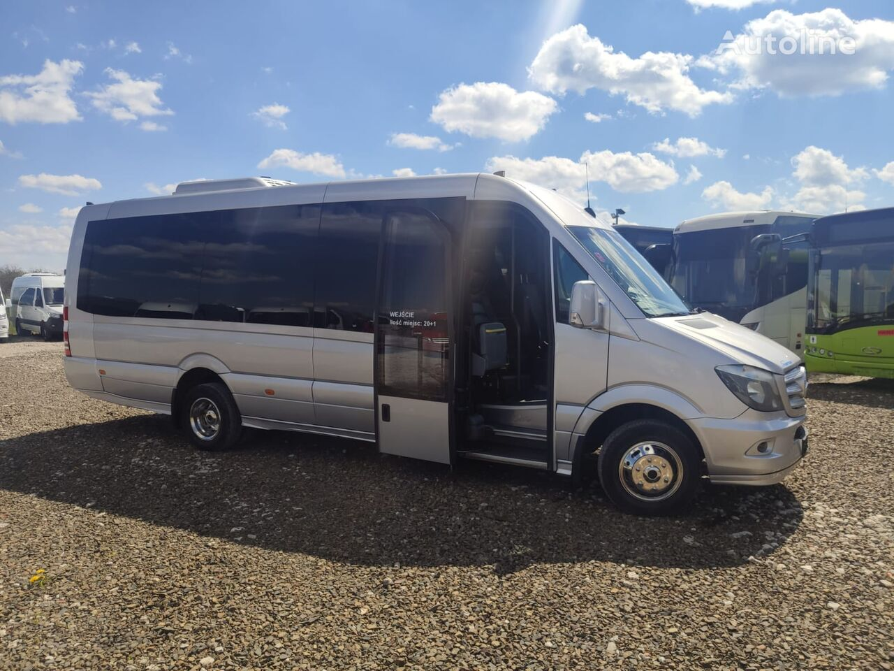 MERCEDES-BENZ Sprinter 519 putnički minibus