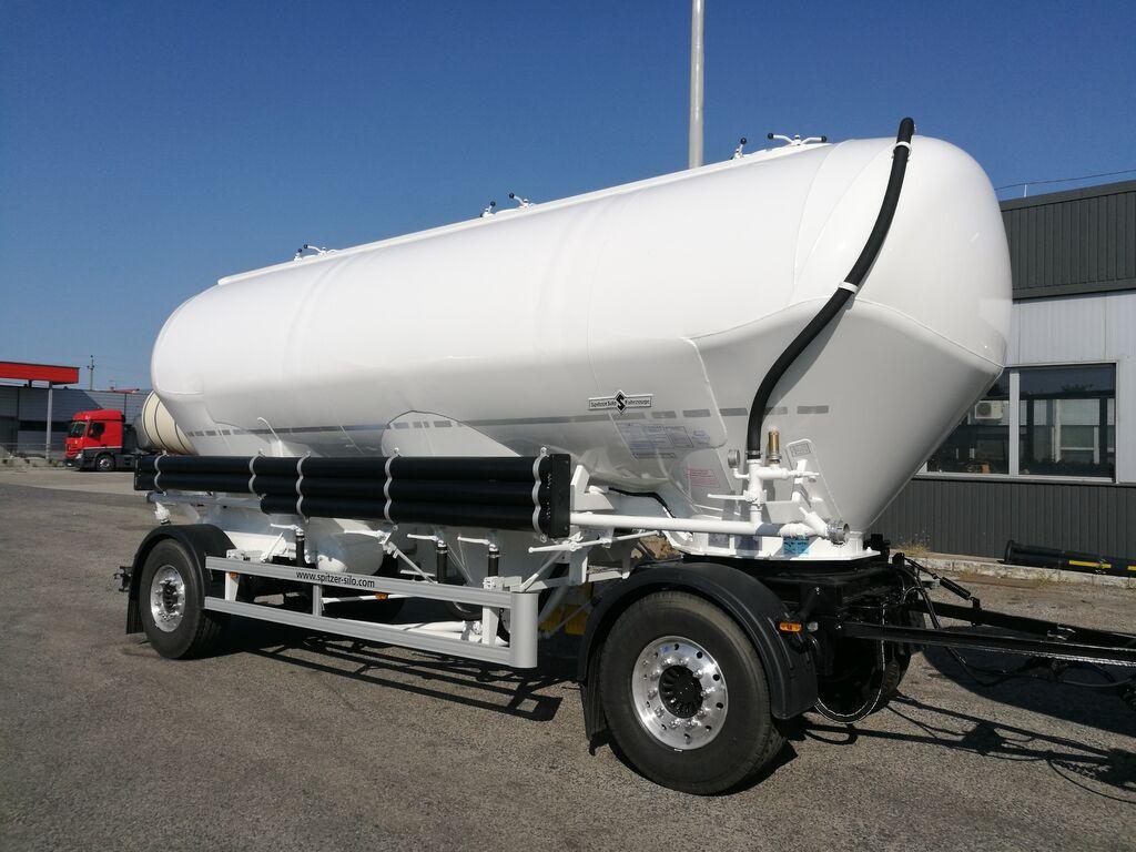 nova SPITZER SAPI1833/3P - 33 m3 4 chambers FLOUR / ANIMAL FOOD cisterna silos