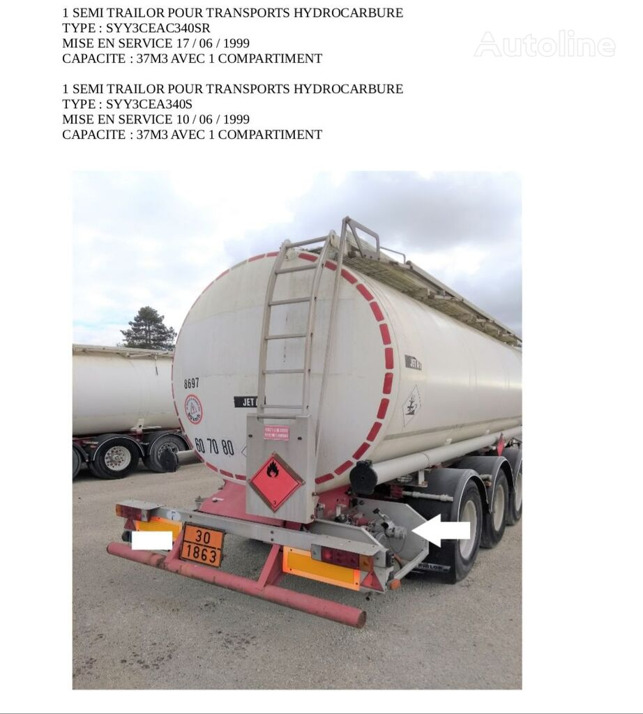 TRAILOR cisterna za goriva i maziva