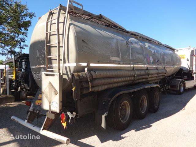 TRAILOR Fuel 40000 liters accident cisterna za goriva i maziva