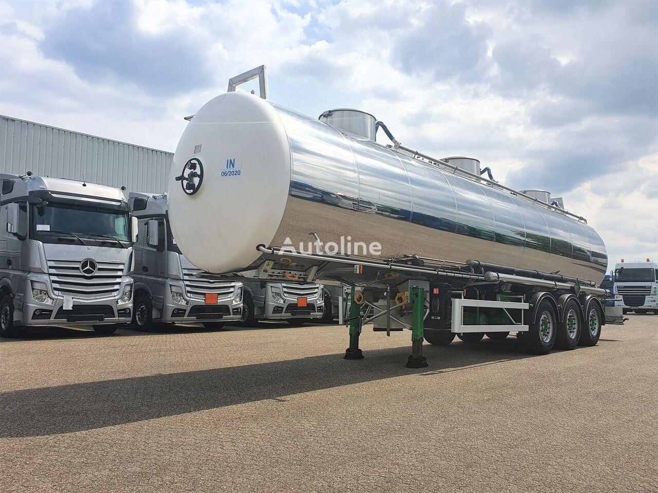 MAGYAR INOX 33.000ltr-3 comp - LGBF - valid 06-2020 cisterna za prijevoz hemikalija