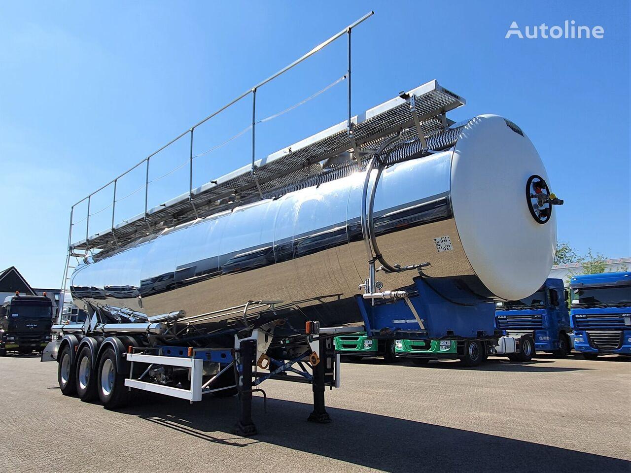 MAGYAR L4BH Inox 30.000ltr - 1 comp - ADR cisterna za prijevoz hemikalija