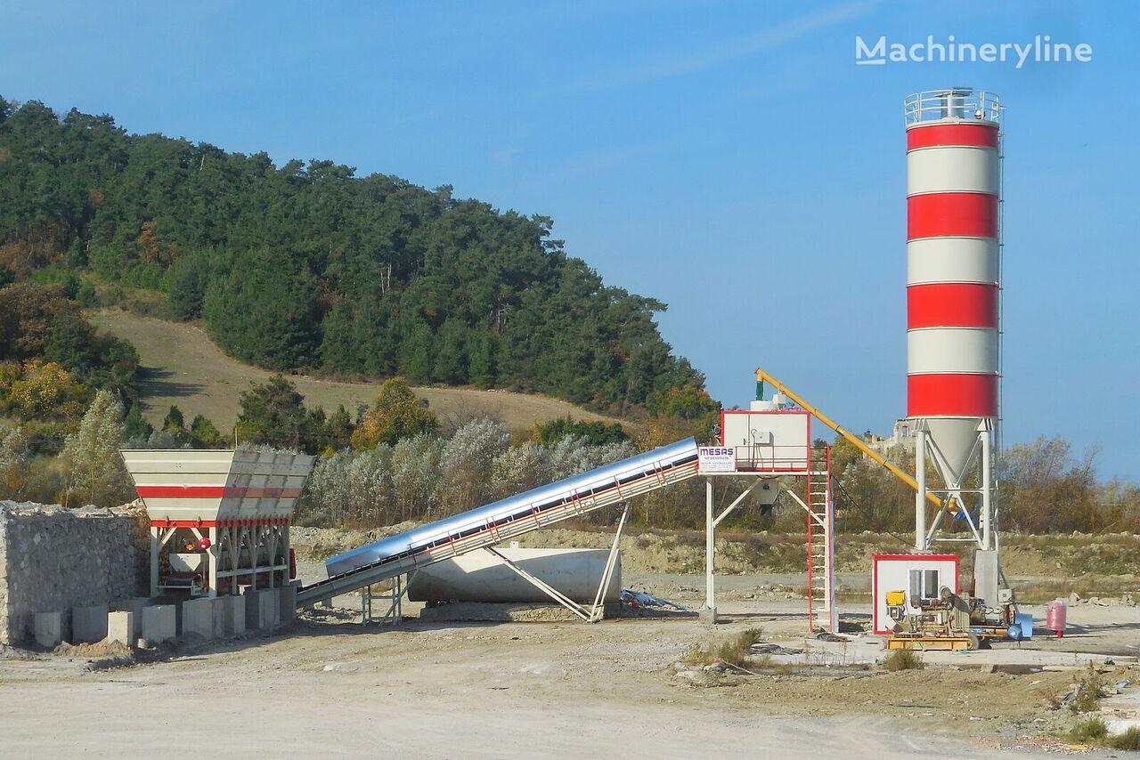 nova MESAS 100 M3/H DRY SYSTEM CONCRETE BATCHING PLANT betonara