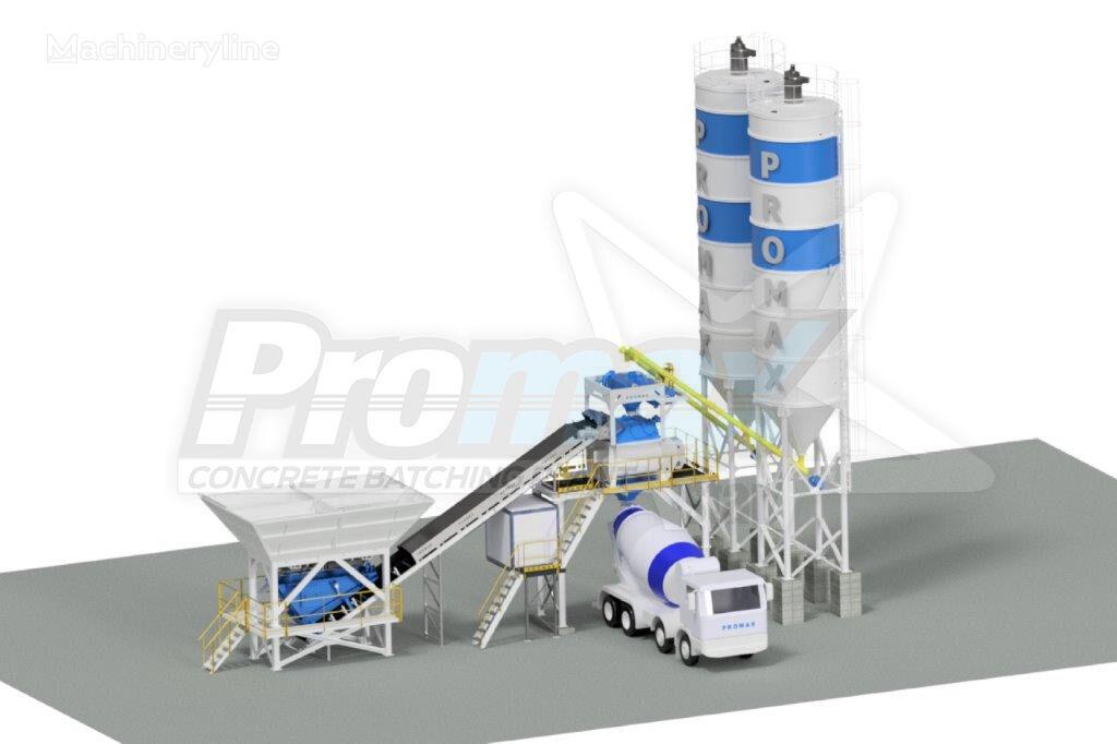 nova PROMAX Compact Concrete Batching Plant PROMAX C100-TWN-PLUS (100m/h) fabrika betona