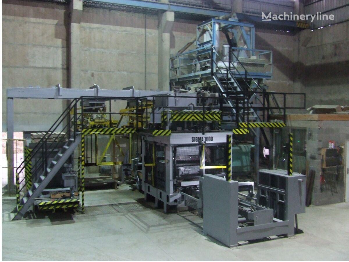 SIGMA 1000 oprema za proizvodnju betonskih blokova