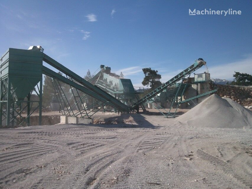 novo SERMADEN High Capacity Stone Crushing & Screening Plant ** 400 tons per h postrojenje za drobljenje