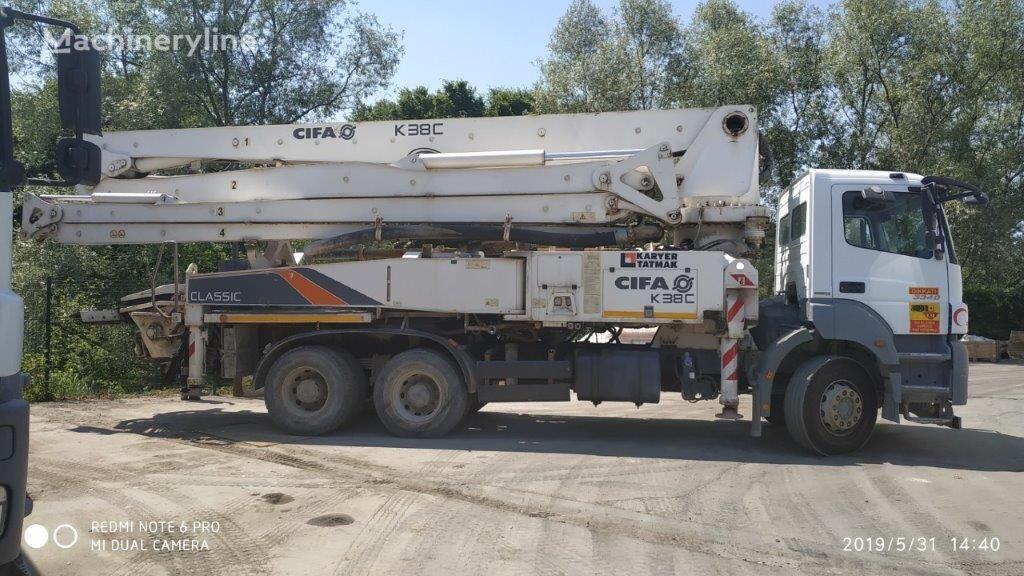 MERCEDES-BENZ Axor 3340 pumpa za beton