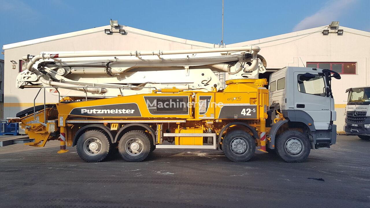 MERCEDES-BENZ  Axor 4140 8x4 - 2016 Putzmeister 42 - 950 WORKING HOURS pumpa za beton
