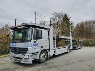 MERCEDES-BENZ Actros 1844 Austausch Motor ca 500000 autotransporter + prikolica autotransportera