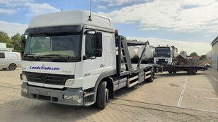 MERCEDES-BENZ Atego 1323 / 7 Cars / Winch / Airco autotransporter + prikolica autotransportera