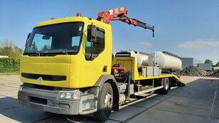 RENAULT Premium 250.19 Crane Winch autotransporter
