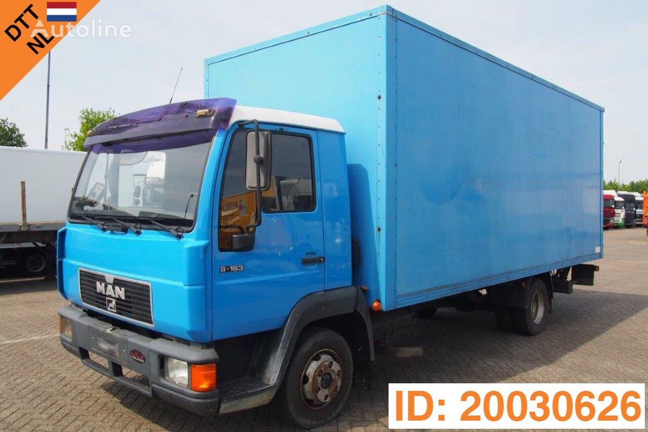 MAN 8.163 kamion furgon
