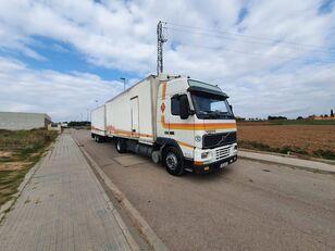 VOLVO FH12 380 kamion furgon + prikolica