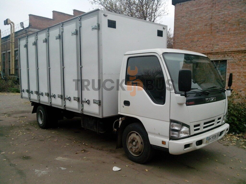novi ISUZU NPR 75L-K/M hlebnyy furgon kamion furgon