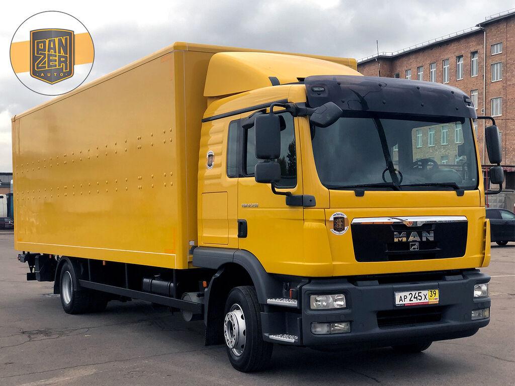 MAN TGM 12.250 BL, FURGON 46 KUBOV, BEZ PROBEGA PO RF kamion furgon