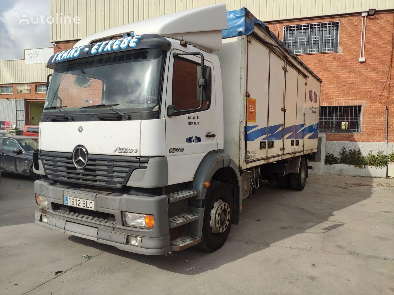 MERCEDES-BENZ Atego 1828 kamion furgon