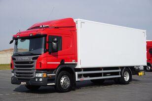 SCANIA P 250  / E 6 / KONTENER / 17 PALET / ŁAD. 9166 KG / MAŁY PRZEBIE kamion furgon