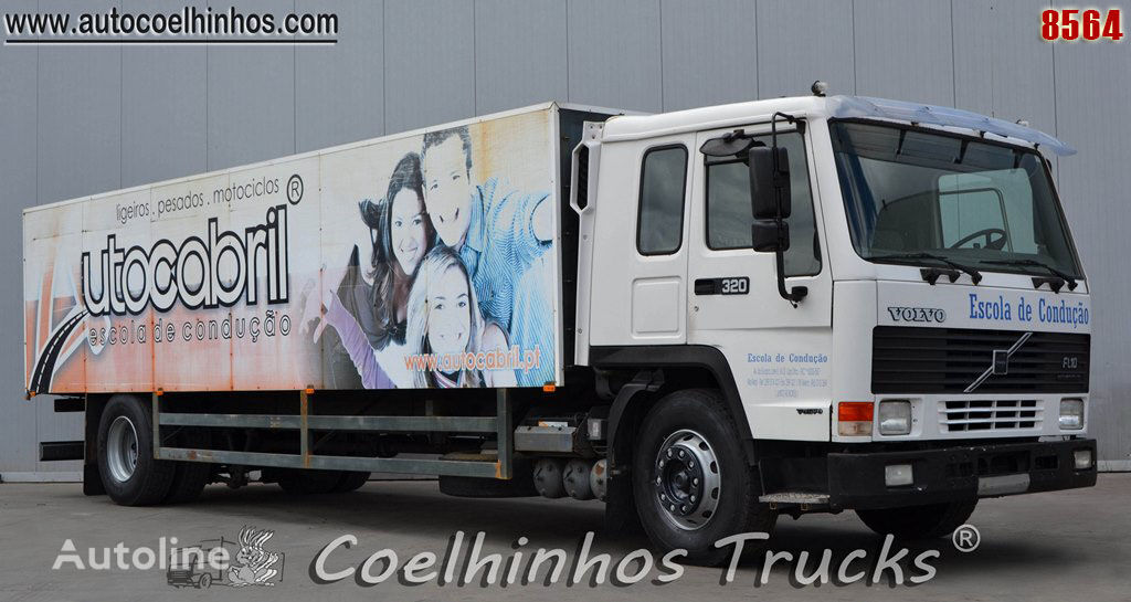 VOLVO FL10 320 kamion furgon