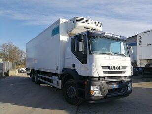 IVECO STRALIS 260S36 6X2 CELLA FRIGO 9 METRI, THERMOKING, PEDANA 2 TON kamion hladnjača