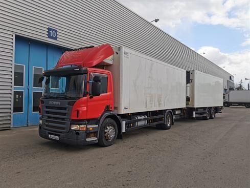 SCANIA P 340 DB4x2MNB kamion hladnjača