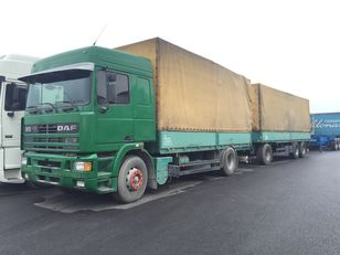 DAF 95.430 ATI EURO2 + SCHARZMULLER kamion s ceradom + prikolica sa ceradom