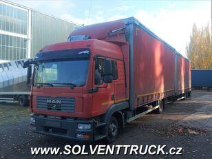 MAN TGL 12.240, Euro 4 kamion s ceradom + prikolica sa ceradom
