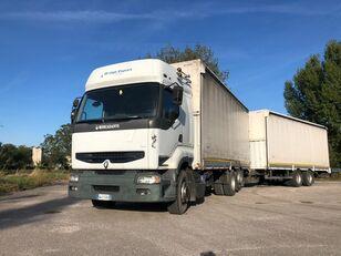 RENAULT PREMIUM 420 DCI + biga Omar + rimorchio centinato kamion s ceradom