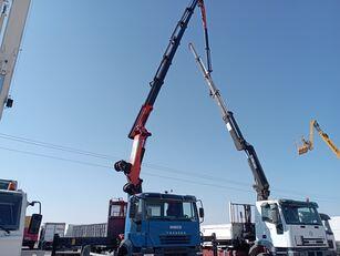 IVECO Trakker kamion s ravnom platformom