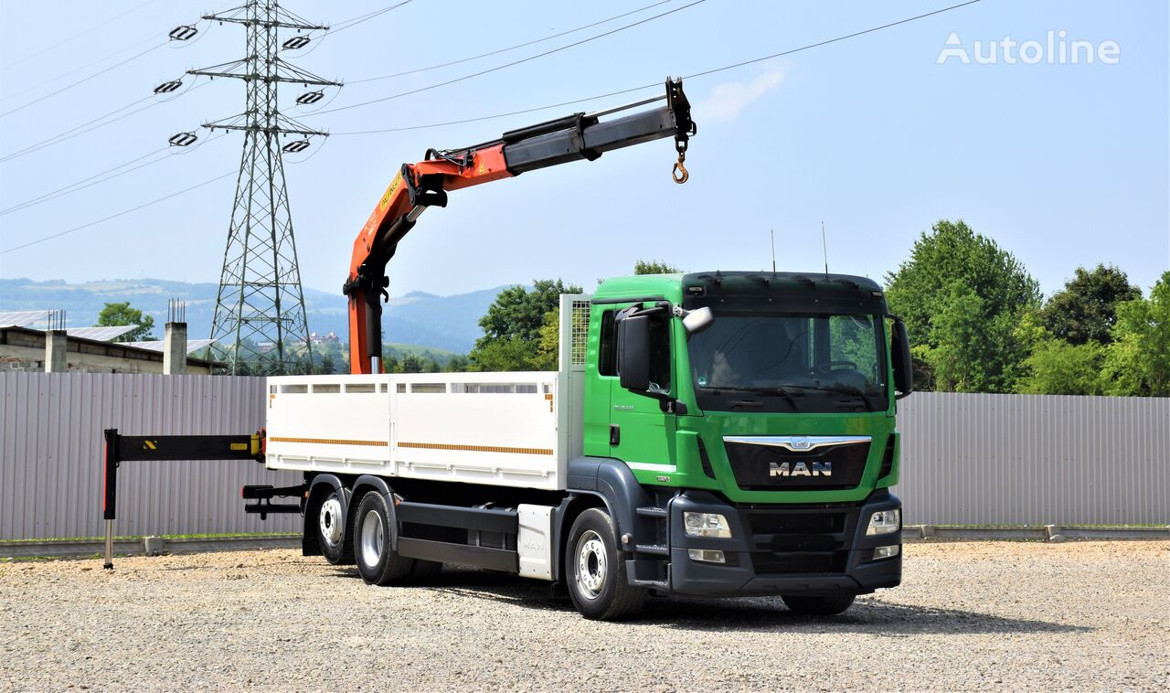 MAN TGS 26.440 Pritsche 7,60 m kamion s ravnom platformom