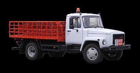 novi GAZ KT-602-01 kamion s ravnom platformom