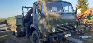 KAMAZ 5320+KRANAS kamion s ravnom platformom