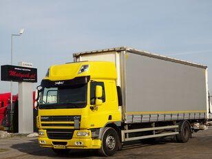 DAF CF 75.310 / CURTAINSIDER - 8,6 M / ELEVATOR / MANUAL / SLEEP CAB kamion sa kliznom ceradom