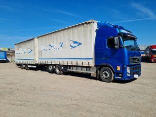 VOLVO FH 13 kamion sa kliznom ceradom + prikolica sa kliznim ceradom