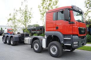 MAN TGS 50.480 10 × 8-8 BB / EURO 5 / FACTORY NEW kamion šasija
