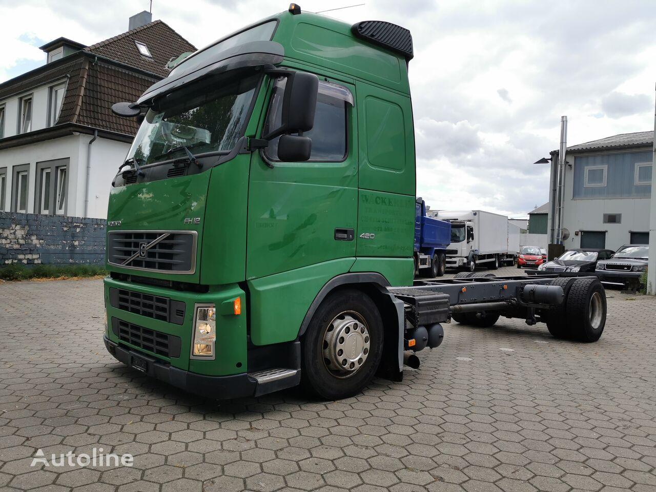 VOLVO FH12-420 Long Chassis, Manual Gearbox kamion šasija