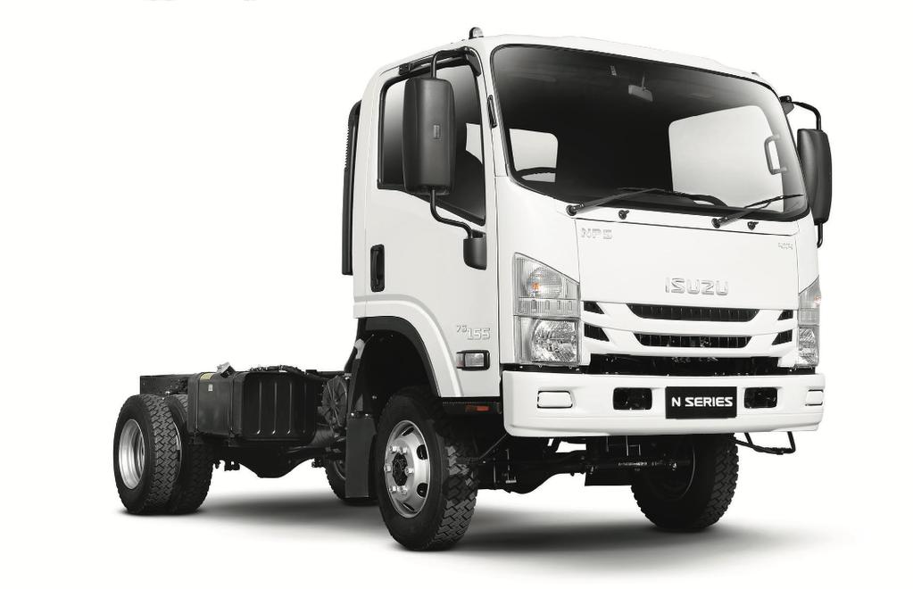 novi ISUZU NPS 75L-K kamion-šasija
