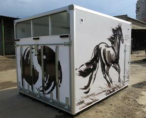 novi ИСТОК kamion za prevoz konja