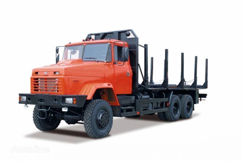 KRAZ 6233M6  kamion za prijevoz drva