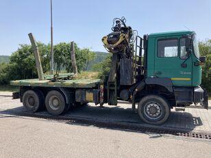 MAN F2000 33.410 kamion za prijevoz drva