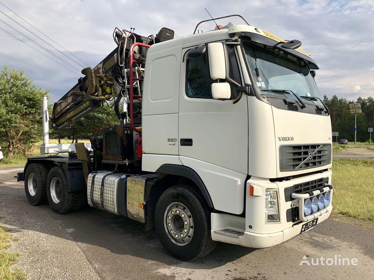VOLVO FH 13 Dzwig Diebolt do Drewna Sprowadzony  kamion za prijevoz drva