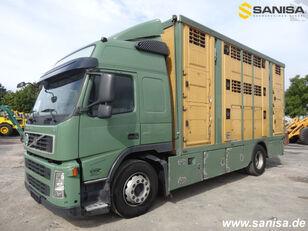 VOLVO FM420/Menke-Janzen Viehtransporter 3Stock kamion za prijevoz stoke