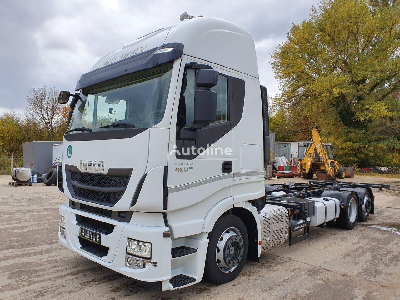 IVECO AS260S46 vozilo za prijevoz kontejnera