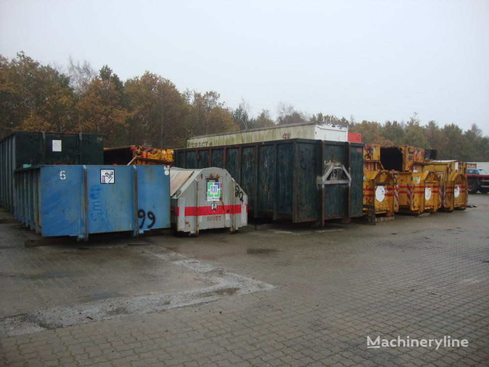 Diverse Container ca. 30 stk kontejner za smeće