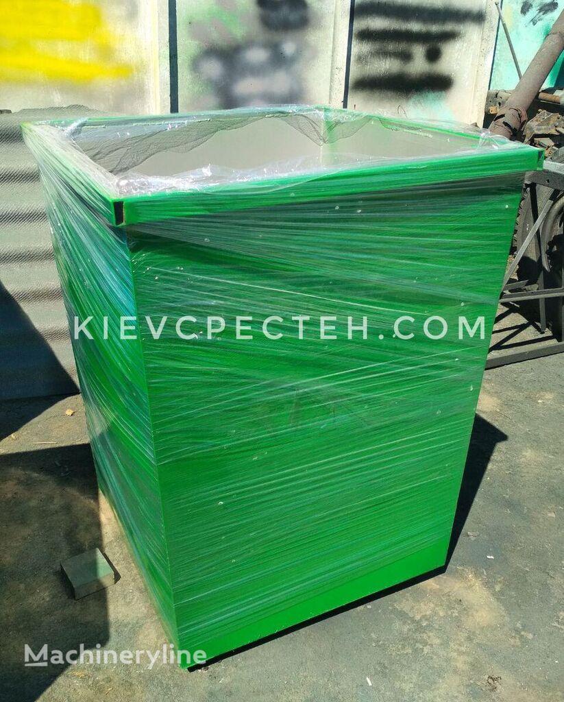 novi Bak dlya musora 750 l. Konteyner 750 l dlya smittya kontejner za smeće