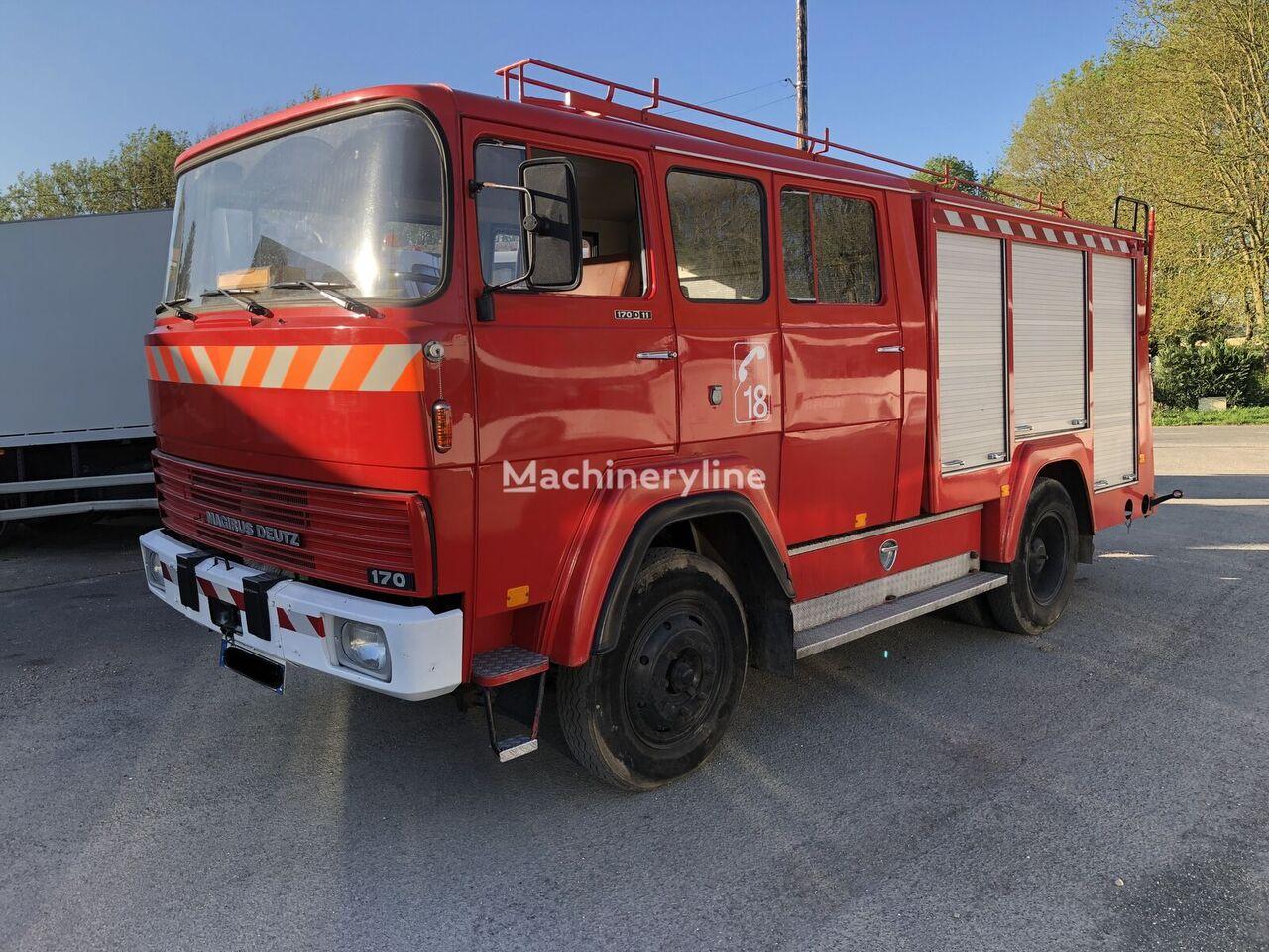 MAGIRUS-DEUTZ 170D19 vatrogasno vozilo