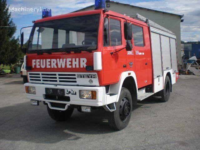 STEYR VATROGASNO VOZILO  STEYR - MAN   4X4, 1987 god vatrogasno vozilo