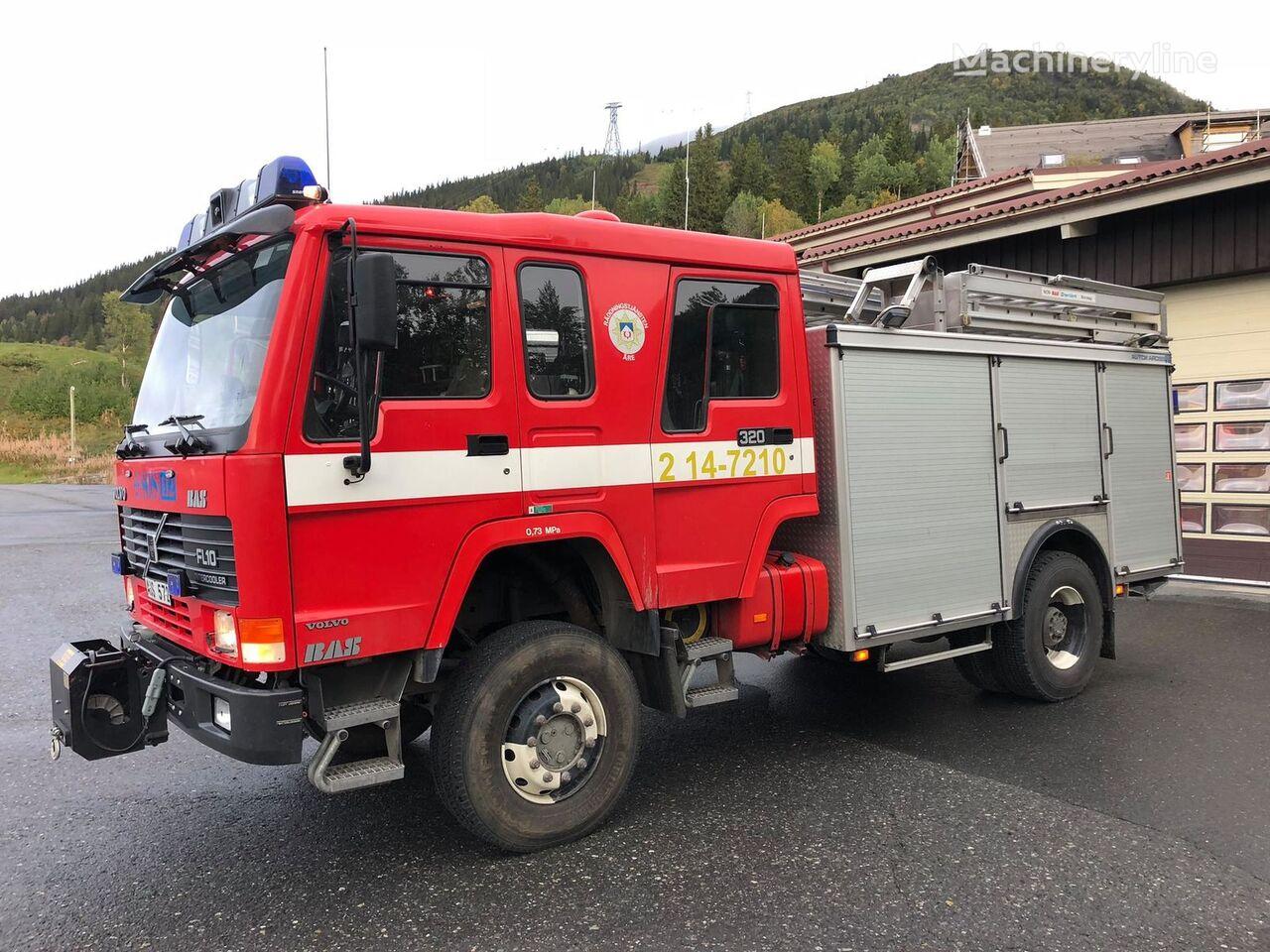 VOLVO FL10 4x4, 1996 - fire engine släckbil autobomba vatrogasno vozilo