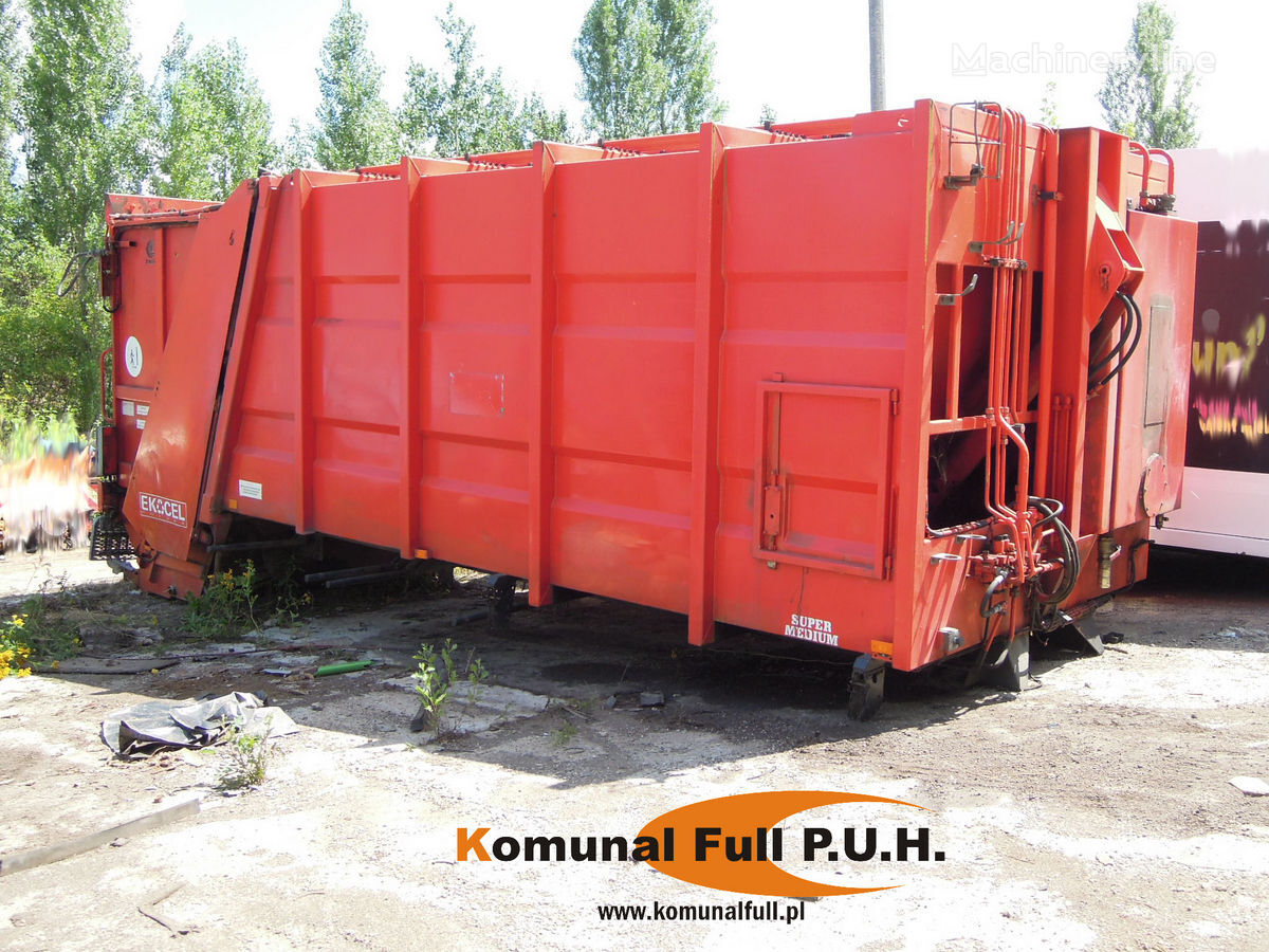 SCHMIDT BUNKIER ZABUDOWA  ŚMIECIARKA EKOCEL EKOPRESS ZOELLER 22m3 karoserija za prijevoz smeća
