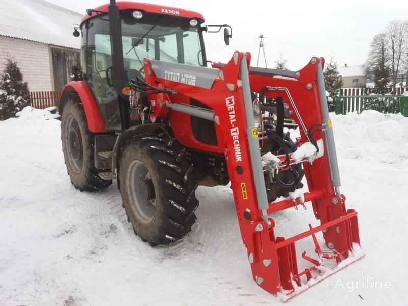 novi Metal-Technik Frontlader für ZETOR 7745 / Ładowacz czołowy do ZETOR 7745 prednji traktorski utovarivač