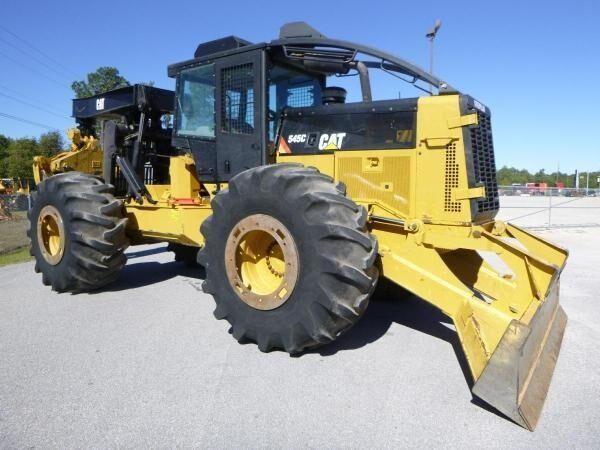CATERPILLAR 545C šumarski traktor